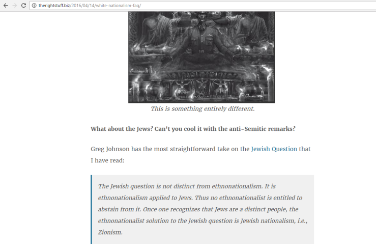 TRS Jewish Nationalism