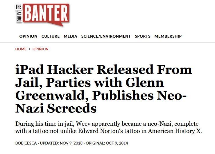 Weev and Glenn Greenwald 1