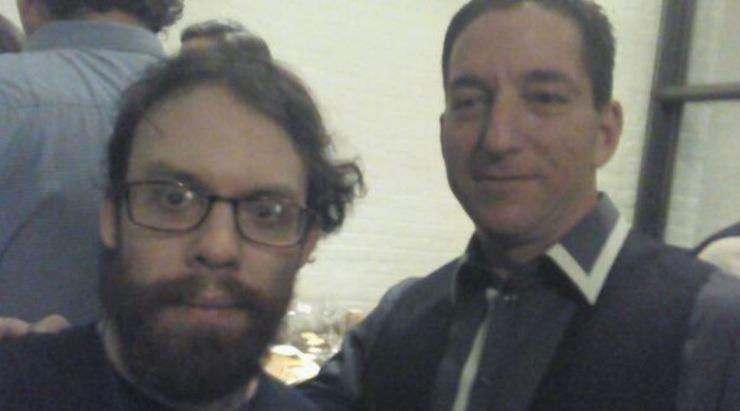 Weev and Glenn Greenwald